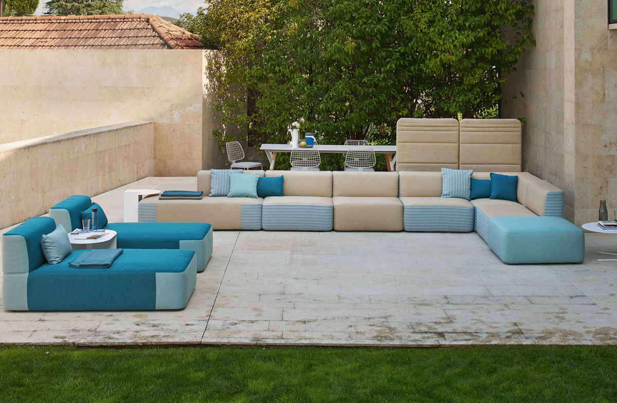 Outdoor modular sofa 09519 for Sofa rinconera exterior