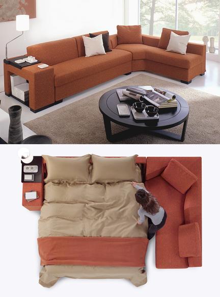 Modular sofa bed 04206 for Usona bed