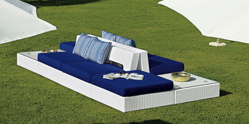 Outdoor Modular Seating 09424